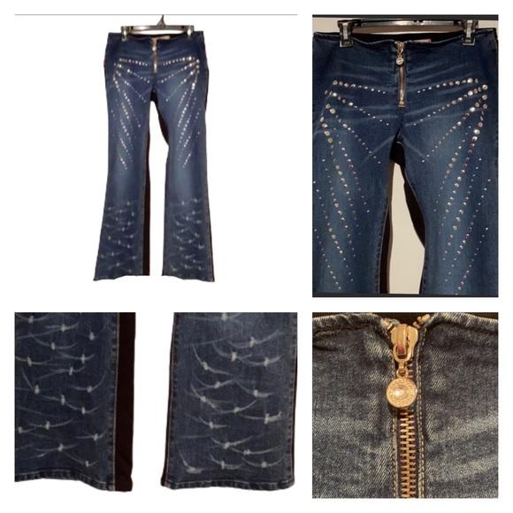30-NWT RARE Vintage Unique Parasuco Diamond Jeans!